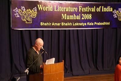 Robin Lloyd-Jones, at World Literature Festival of India