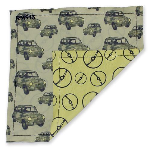 Pocket Square Car/Steering Wheel