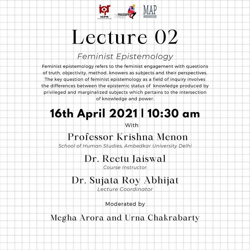 Lecture 02 - Feminist Epistemology