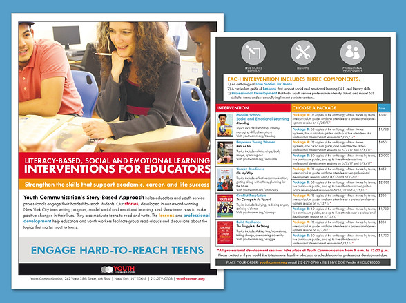 Interventions for Educators Mailer