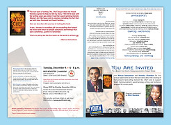 Event Invitation Tent Fold Card