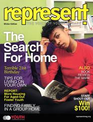 Represent Magazine Cover