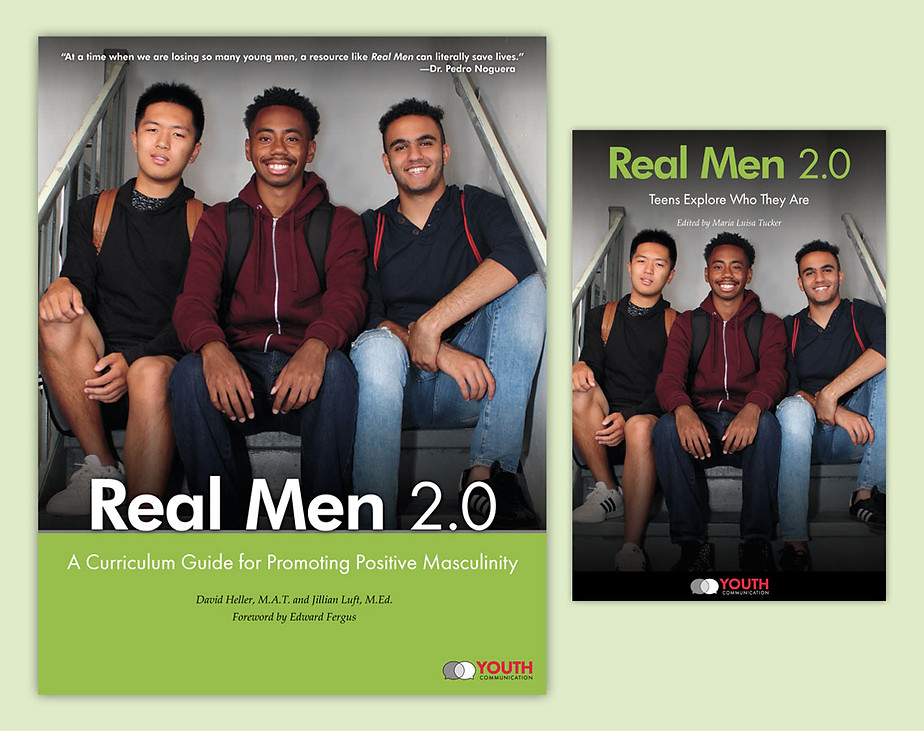 Real Men 2.0 - Teacher Curriculum Guide & Anthology