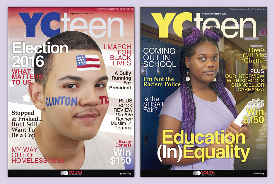 YCteen Magazine Covers