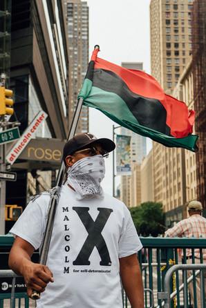 Columbus Circle, Manhattan, New York - Aug 15, 2020