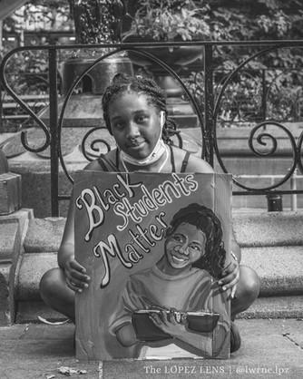 Madison Square Park, Manhattan, New York - Aug 15, 2020