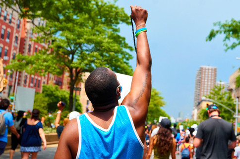 Adam Clayton Powell Boulevard, Harlem, New York - Jun 06, 2020