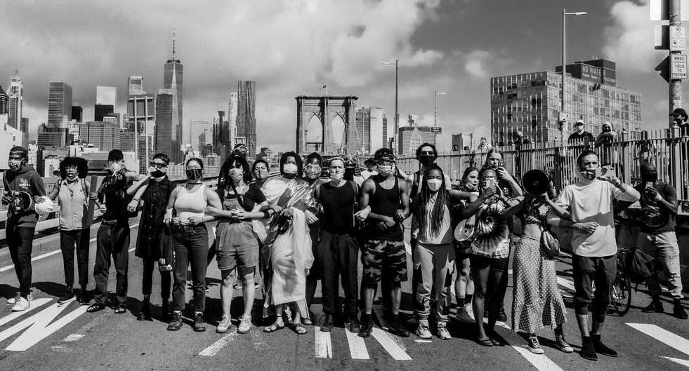 Brooklyn Bridge, New York, New York - Jul 15, 2020