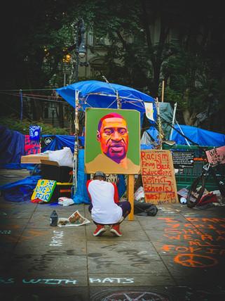 Abolition Park, Manhattan, New York - Jul 09, 2020