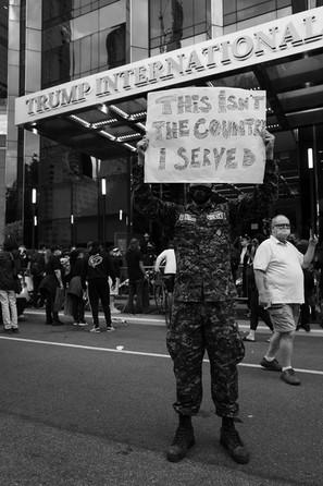 Columbus Circle, Manhattan, New York - Jun 02, 2020