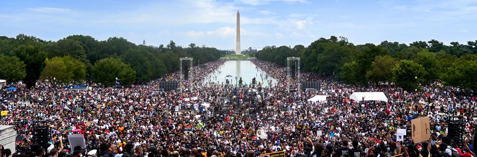 The National Mall, Washington, DC - Aug 28, 2020
