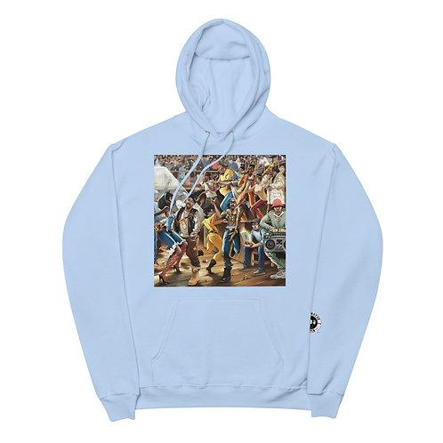 Hiphop Unisex fleece hoodie