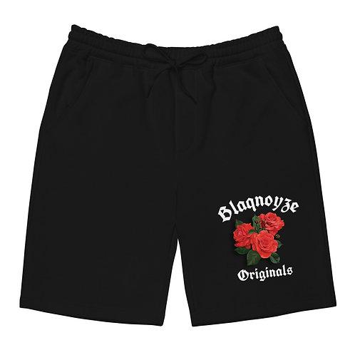 Blaqnoyze original fleece shorts