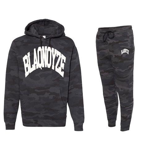 Blaqnoyze Black Camo Sweatsuit