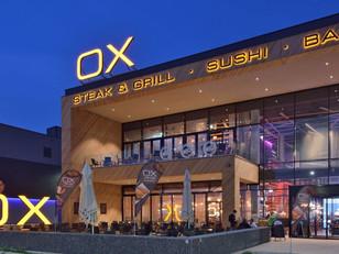 "Komplett Beschilderung                   ""OX Steak & Grill Parndorf"""