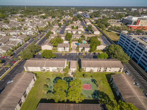 College Town @ USF Aerial Photo