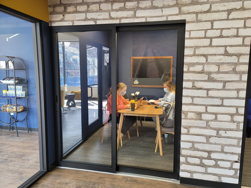 Private Study Rooms in the Lounge