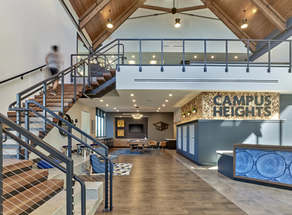 Campus Heights Clubhouse Interior