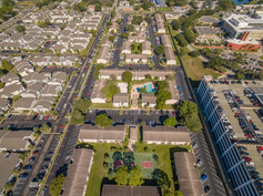 Student Housing Aerial Photo