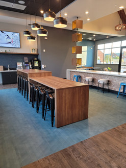Cafe Area with FREE Starbucks Self Serve
