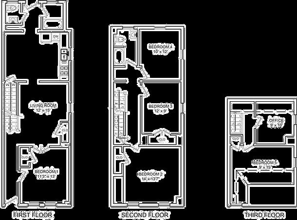 513 East 5th Street Floor Plan