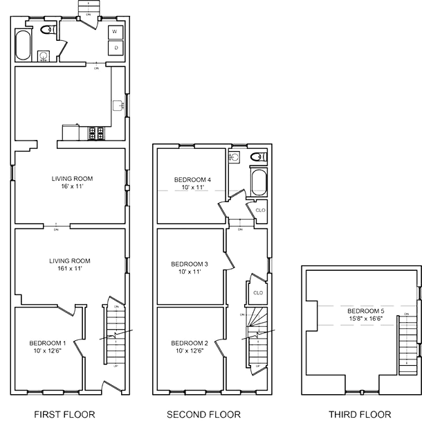 411 East 5th Street Floor Plan