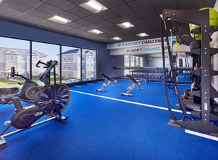 Track and Turf Room in Fitness Center