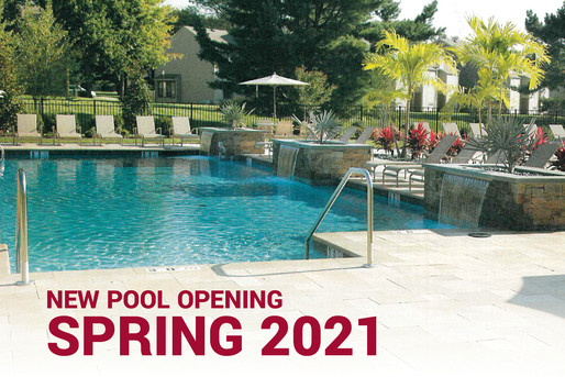 New Pool Opening Spring 2021