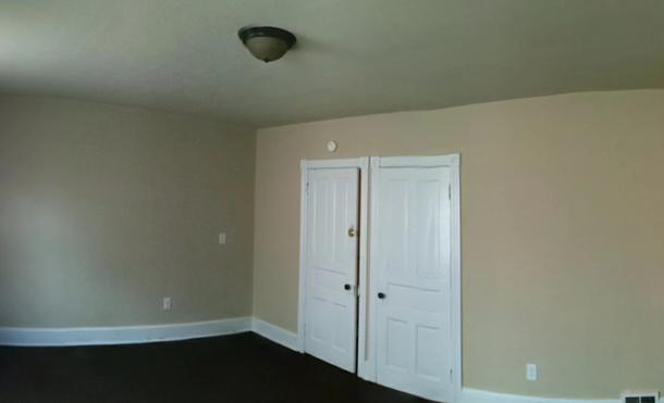 Bedroom closet space