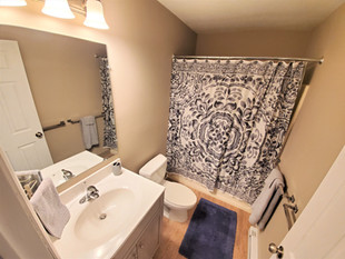 Enjoy at least two full sized bathrooms when you live within our off campus housing!