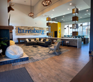 Clubhouse Media Lounge w/Shuffleboard Table