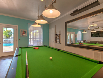 Play a round of pool in our clubhouse!