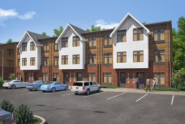 TRY Exterior Townhouse Rendering