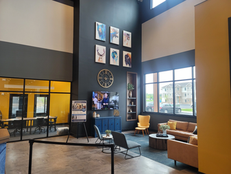 Clubhouse Reception Area