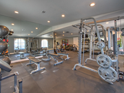 State-of-the-art fitness center open 24 hours!
