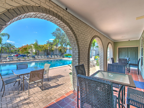 Poolside Outdoor Seating