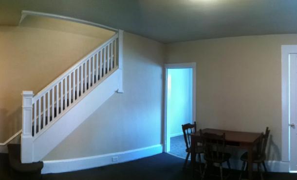 HUGE living room space!