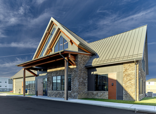 Campus Heights Clubhouse Exterior