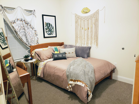All Bedrooms Include Five Drawer Dressers and Full-sized Closets