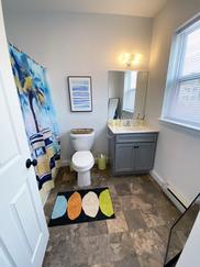 Clean Modern Bathrooms