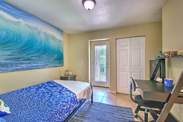 Modern student bedroom furnishings