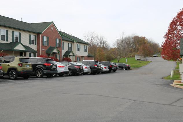Multiple Parking Lot Entrances