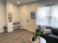 Living Room Entry Nook