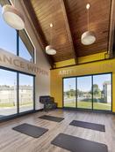 Yoga studio with mirror gym!