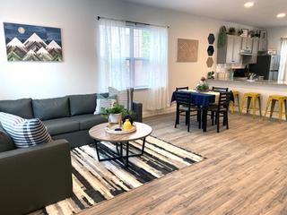 Modern Living & Dining Room Interior