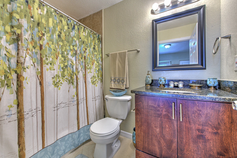 Bathroom with Full-Sized Shower