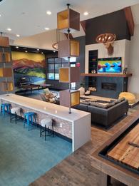 Relaxing Fireplace Lounge