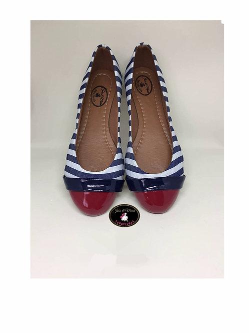 AL064 - Sapatilha Azul e Vermelha
