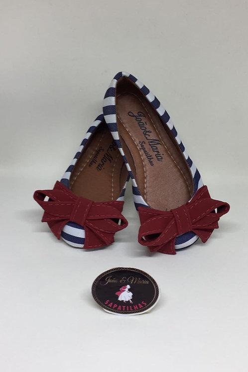 AL064.1 - Sapatilha Azul e Vermelha