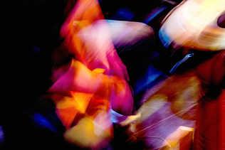 Flou artistique musicien djembé